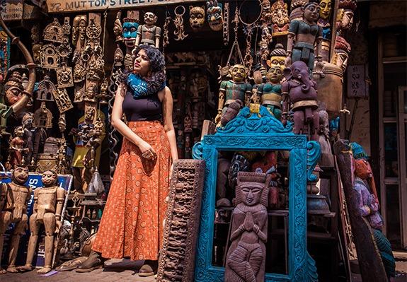 Chor Bazaar street fashion photography